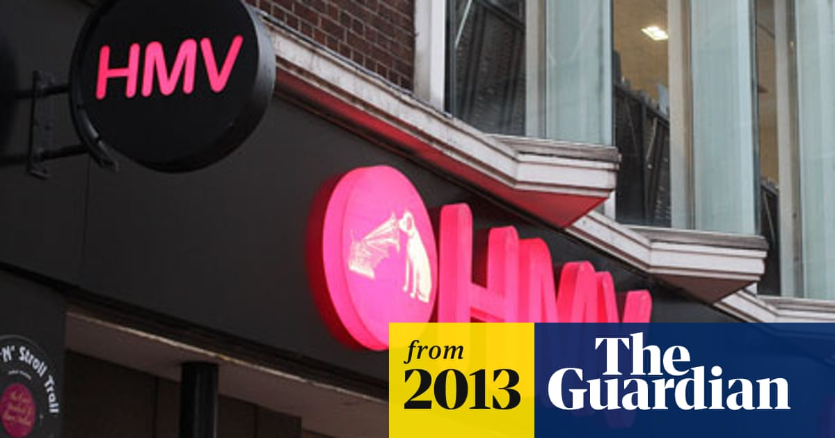 Hilco To Save Hmv Brand In 50m Rescue Deal Business The Guardian
