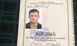 Moldovan hitman