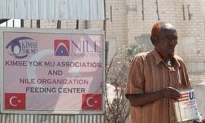 Turkey aid in Somalia