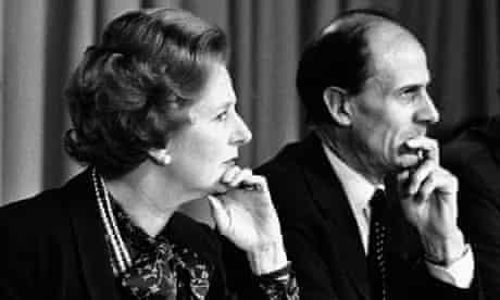Margaret Thatcher and Norman Tebbit