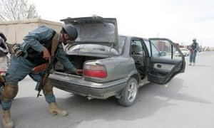 Taliban attacks on checkposts in Ghazni
