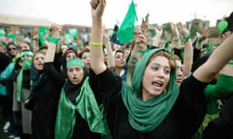 Supporters of Mir-Hossein Mousavi