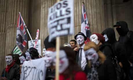 Anti-austerity march in London