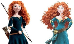 6c985bd5ed1 Disney retreats from Princess Merida makeover after widespread criticism