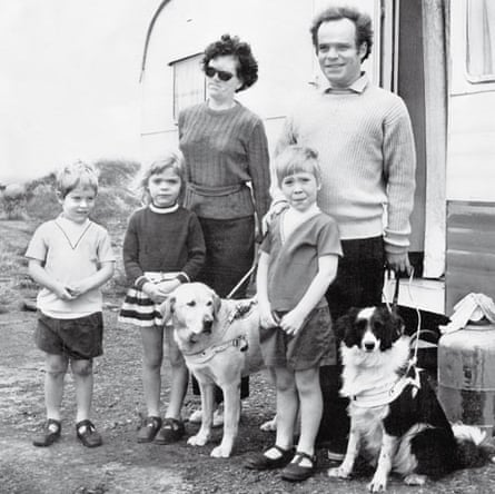 The Reid family on holiday