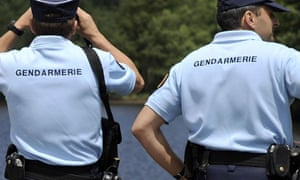 Two gendarmes - French police
