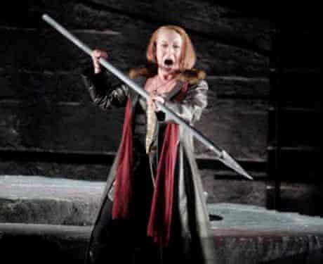 Nina Stemme as Brunnhilde in Wagner's Die Walkure