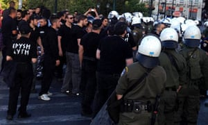 Greece's neo-Nazi Golden Dawn goes global with political
