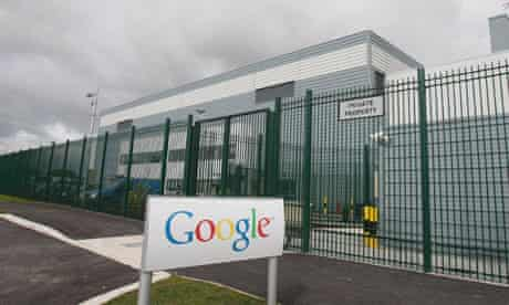 Google's Data centre in Dublin
