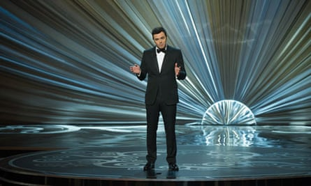 Seth MacFarlane during his controversial hosting of the 85th Annual Academy Awards Oscars