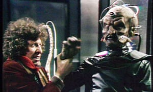 Genesis of the Daleks … the Doctor and Davros.