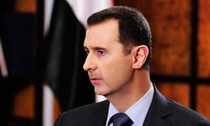 Interview with Syrian President Bashar Assad, Damascus, Syria - 19 May 2013