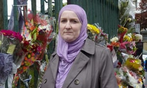 Julie Siddiqi, of the Islamic Society of Britain, in Woolwich
