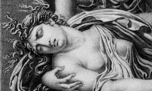 Phaedra, detail from an engraving by Raphaël Urbain Massard