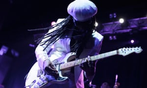 Nile Rodgers of Chic in Manchester