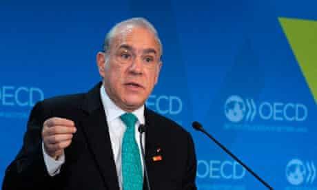 OECD Secretary General Angel Gurria talk