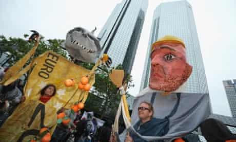 Blockupy Protests In Frankfurt