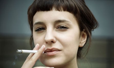 A cigarette? That's half a microlife gone for ever.