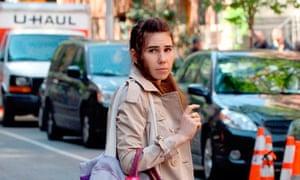 'Girls' on set filming, New York, America - 14 May 2013