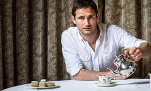 Reading the game … Frank Lampard, Chelsea and England footballer – and now children's author.