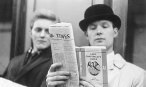 Lady Chatterley's Lover … the ending of the novel's ban in 1960 signalled the new era
