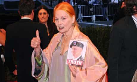 Vivienne Westwood at the Met Ball 21013