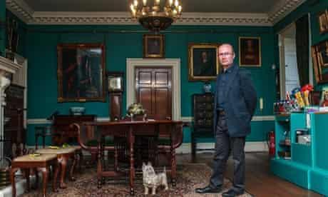 Peter Reder in a room in Preston Manor, Brighton