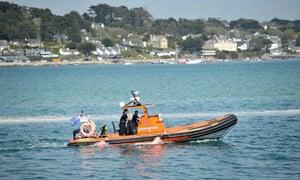 Speedboat accident