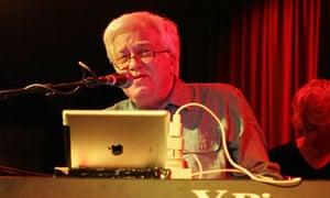 Van Dyke Parks at the keyboard in London