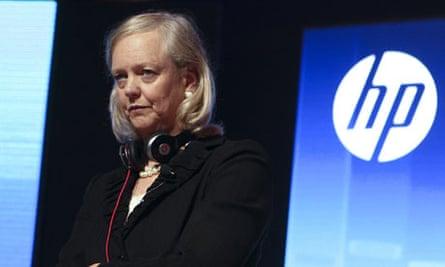HP chief executive Meg Whitman