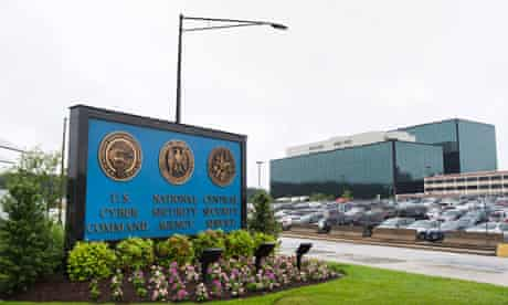 NSA headquarters in Fort Meade