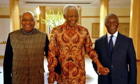 Nelson Mandela, Thabo Mbeki and Thabo Mbeki