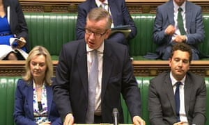 Michael Gove tells the House of Commons of the proposed changes to GCSEs.