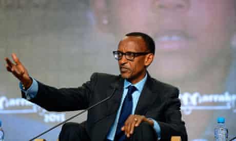 Rwanda's President Kagame