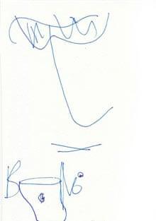 Bono's postcard for the Affordable Art Fair
