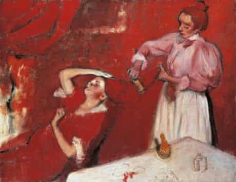 Degas' Combing the Hair