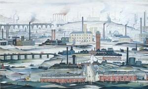 Lowry Industrial Landscape