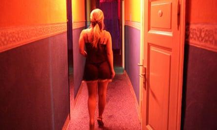 A prostitute in Berlin