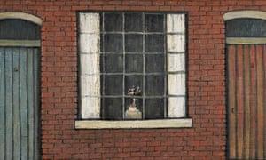Lowry Flowers in a Window