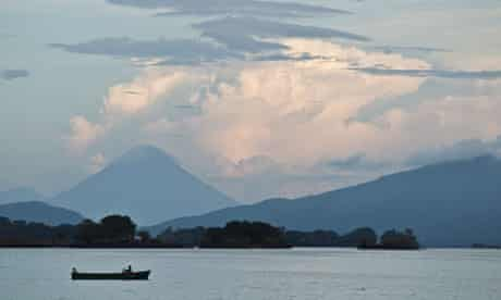Lake Cocibolca in Nicaragua, which the new waterway would go through.