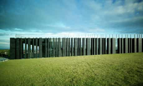 The Giant's Causeway visitor centre by Heneghan Peng, nominated for the RIBA awards 2013.