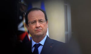 President Hollande's popularity has plunged in the past year