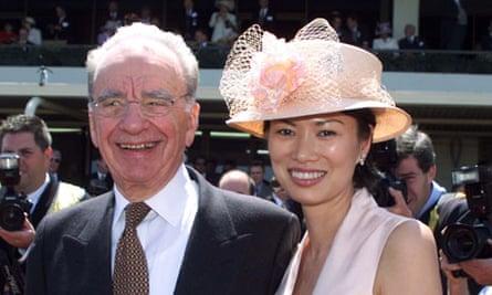 Rupert Murdoch and Wendi