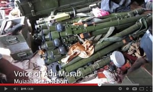 The anti-aircraft missiles now allegedly at the disposal of jihadists in the north of Syria