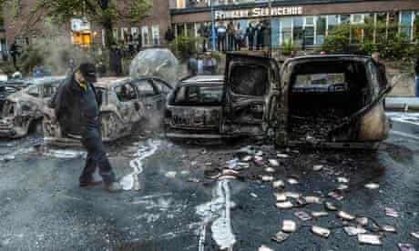 Riots in Stockholm