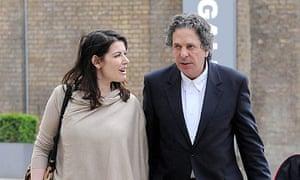 Nigella Lawson and Charles Saatchi