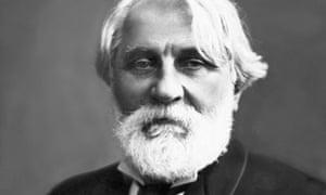 Portrait of Ivan Turgenev by Nadar