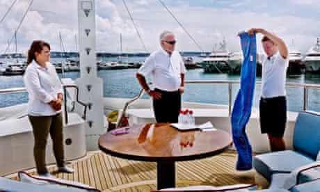 Training yacht staff
