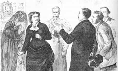 Arrest of Madame Restell in 1878