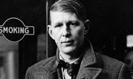 WH Auden in London in 1938